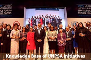 Knowledge Base of UNPSA Initiatives