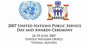 2007 United Nations Public Service Day and Awards Ceremony