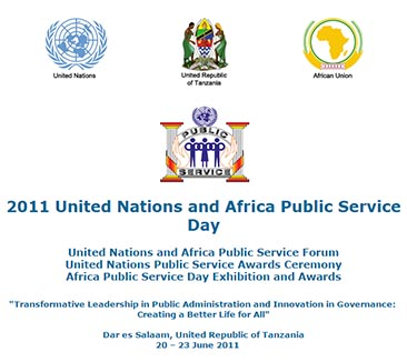 2011 United Nations and Africa Public Service Day
